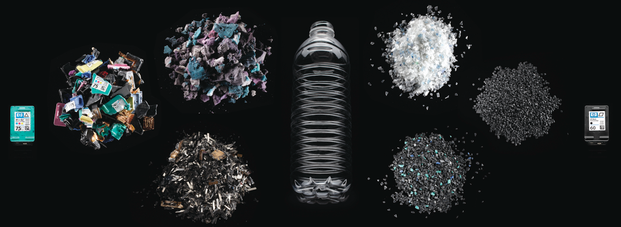 Ink cartridge recycling process